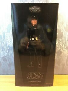 Star Wars 1/6 Scale « Commander Praji » SIDESHOW COLLECTIBLES 2008 NEUF.