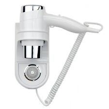 WALL MOUNTED IONIC HAIR DRYER 1400W COMMERCIAL HOTEL LEISURE CENTRE GYM