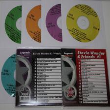 KARAOKE LEGEND+R&B MOTOWN 7 CD+G Disc Stevie Wonder & friends #99+100 ALL NEW