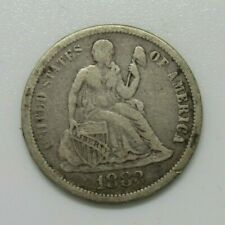 US 1883 Seated Liberty 10 Cents nice Fine Condition