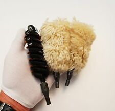 RAF Aden Cannon 30mm gun cleaning brush brushes mops Ideal 3 & 4 bore shotgun