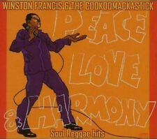 Winston Francis & The Cookdomackastick Peace Love & Harmony CD+DVD NEW SEALED