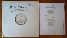 "STOP THE WORLD I WANT TO GET OFF - SAMMY DAVIS, JR. - CURB / WB - 12"" TEST PRESS"