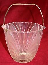 Elegant Cambridge Caprice Ice Bucket Crystal Vintage Glassware 3 Available Wow!