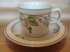 WEDGWOOD WILD APPLE CUP AND SAUCER