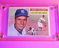 1956 Topps #316 Jerry Coleman Ex (no creases) Yankees