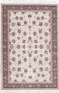 All Over Floral Tebriz Wool Acrylic 5x7 Oriental Area Rug 1000 Reeds