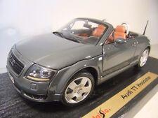 1:18 Maisto Special Edition 31878 Audi TT Roadster - Grey - MIB