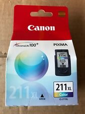 Brand New Sealed Canon 211XL Color Ink Cartridge 2975B001 CL-211XL 3 Colors NIB