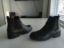 Women's black Graceland boots size Eur 40, UK 7, USA 9.5, CM 25.5, heels 3cm/1.1