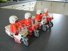 PLAYMOBIL 4 RESCUE MOTORCYCLES