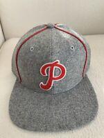47 Brand Philadelphia Phillies Retro Cooperstown Captain Snapback Hat NEW '47