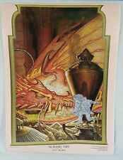 THE HOBBIT LOTR DOUBLE SIDED POSTER 17x23 BATTLE 5 ARMIES 1976 RARE