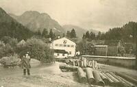 Oberstdorf im Allgäu - Bauernhof - Alpenlandschaft  um 1910        X 43-13
