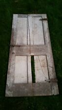 """c1830-40 raised four panel door old paint 69 1/2"""" tall x 29 3/4"""" wide (d18)"""