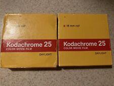 Kodachrome 25 Color Movie Film 16mm