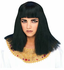 Cleopatra Egyptian Queen Egypt Goddess Black Women Costume Wig
