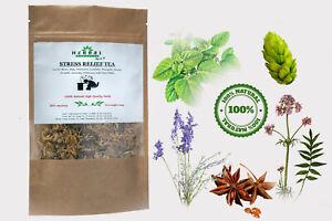 STRESS RELIEF HERBAL TEA Sleep Aid Anxiety Calming Tea Formula For Stress