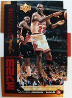 1999 99 MJ23 Upper Deck UD Michael Jordan Quantum Die Cut QMM23 #'d /2300 Bulls