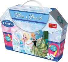 Frozen glitter - giochi Puzzle Quota 100 Disney La Regina Delle Nevi Elsa Anna