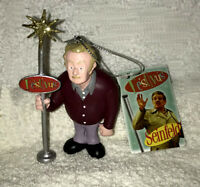 SEINFELD Frank Costanza FESTIVUS POLE CHRISTMAS ORNAMENT NEW W TAG Jerry Stiller