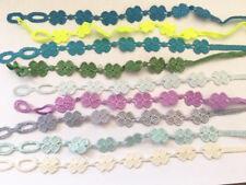 Bracelet Style Cruciani Trèfle tissu couleur au choix