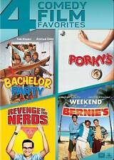 Bachelor Party/Porkys/Revenge of the Nerds/Weekend at Bernies (DVD, 2014, 4-Dis…