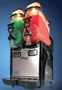 Commercial Double Bowl Slush Machine - Italian Quality