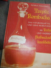 Fasching ** Teepilz Kombucha **  Naturheilmittel / Stoffwechselkrankheiten