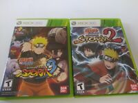 Naruto Shippuden Ultimate Ninja Storm 3 Xbox 360 and Storm 2 Tested Working