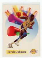 1991 Skybox Earvin Magic Johnson Always Showtime VHS Promo Card RARE NNO