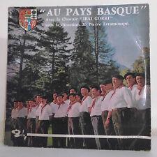 33T 25cm AU PAYS BASQUE Disque Chorale IBAI GORRI P. ERRAMOUSPE - BARCLAY RARE
