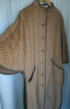 ORIGINAL MANTEAU CAPE / PONCHO LONG manches chauve souris T.44/46/48 chevrons