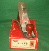 Antique Vintage Miller Falls No.9 Smooth Plane Stanley No. 4 Size w/BOX Inv#MU08