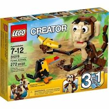 31019 FOREST ANIMALS  lego creator NEW sealed 3 in 1 legos set monkey toucan