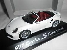 PORSCHE 911  TURBO S CABRIOLET 1/43ème