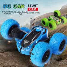Xmas Stunt RC Car Off-Road 4WD Rotate Double Sided Flip Drift Toy Remote Control