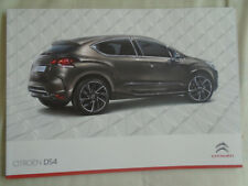 Citroen DS4 range brochure Jul 2011