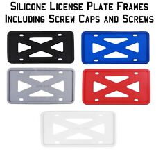 Flawless Silicone License Plate Frame