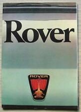 Range Rover 1980 Car Sales Brochures