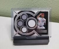 2018 Topps Museum Collection Stephen Strasburg Quad Relic 36/99 NATIONALS