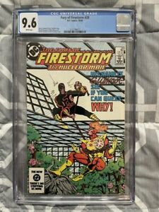 FURY OF FIRESTORM #28 CGC 9.6 1ST APPEARANCE SLIPKNOT WHITE PAGES