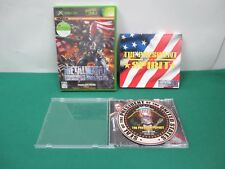 XBOX -- METAL WOLF CHAOS + used SOUND TRACK CD -- JAPAN. GAME. NEW. 42366