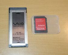 SONY VAIO PRO MEMORY CARD ADAPTER VGP-MCA20 1-479-629-11 xD SD MMC + micro adapt