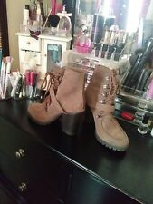 tan/brown boots size 8