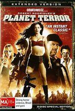 PLANET TERROR (EXTENDED VERSION) - Uncut 2 Disc Version  - Region 4 DVD