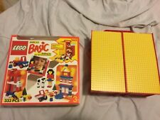 LEGO basic 365 build-n-store chest carry case with box vintage