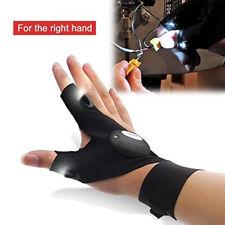 LED Light Finger Lighting Gloves Auto Repair Outdoors Flashing Artifact US SHIP