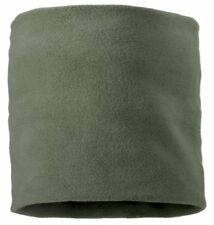 Thermal Fleece Neck Warmer Gaiter Brown Olive Green ~ NEW