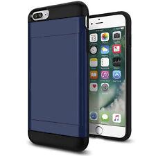 Slim Wallet Shockproof Credit Card Pocket Holder Case Cover For iPhone 7 Plus